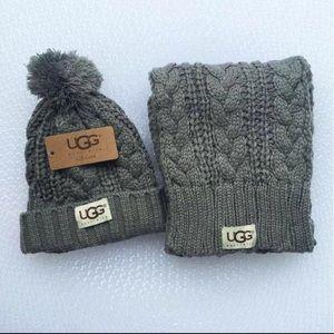 Hat/glove set